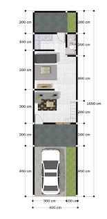 Desain Rumah Ukuran 4x10 Meter 2 Lantai Desain Rumah Minimalis