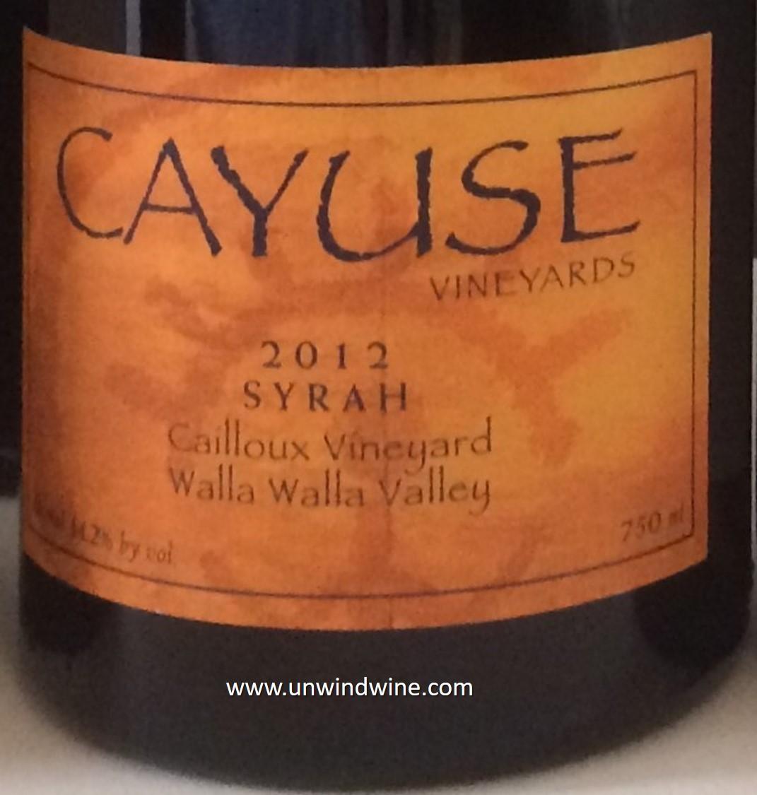 Unwindwine 09 18 16 for Cayuse vineyards