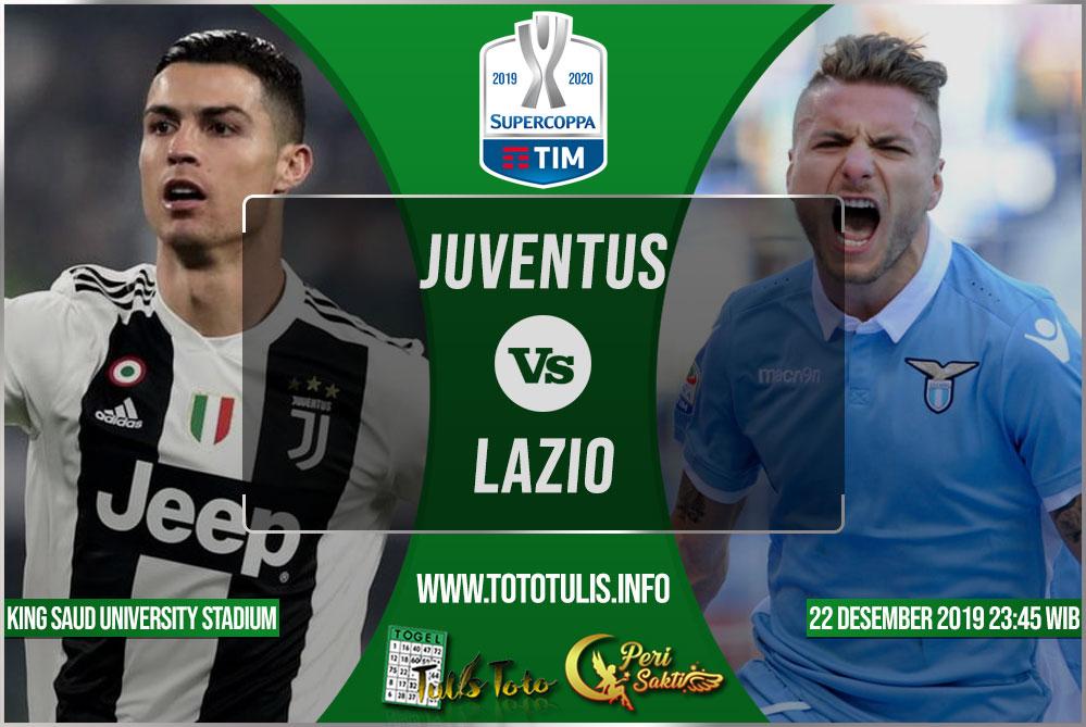 Prediksi Juventus vs Lazio 22 Desember 2019