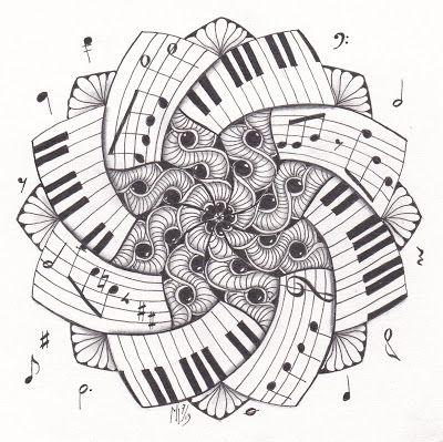 El viaje musical: Mandalas musicales