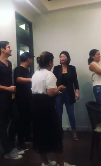 Angel Locsin Was So Happy As She Was Watching This Lady Imitating Monica Of 'The Legal Wife'! Pure Happiness!