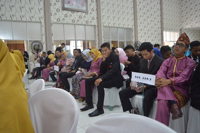 Pelepasan Siswa/i SMAN 14 Bandar Lampung TP 2017/2018