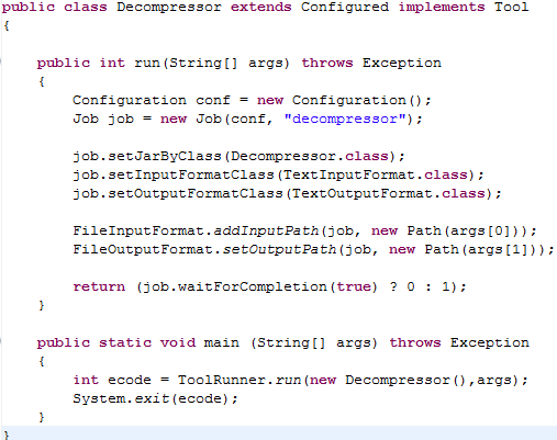 Hadoop Soup: Compression and Decompression in MapReduce