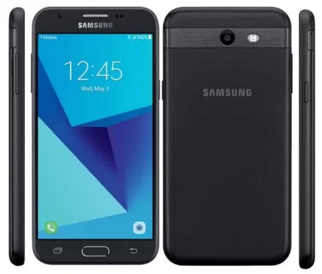 Samsung Galaxy J3 prime front, back and side view