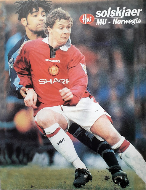 PIN UP OLE GUNNAR SOLSKJAER