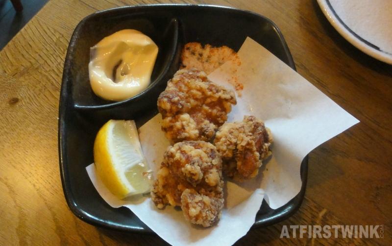 Takumi Düsseldorf Rotterdam fried chicken karaage