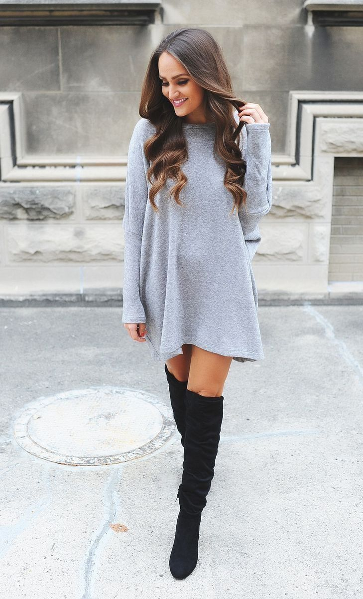 58 charming winter sweater outfits to stand out from the crowd trending pin Fashion solitaire winter style