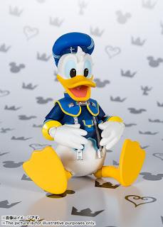 S.H.Figuarts Donald Duck de Kingdom Hearts II - Tamashii Nations