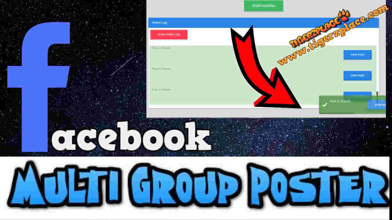 How to post in multiple Facebook groups at once - [Facebook Auto