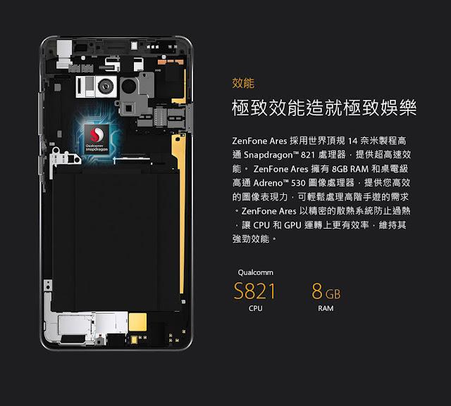 Asus ZenFone Ares Resmi Hadir dengan RAM 8 GB
