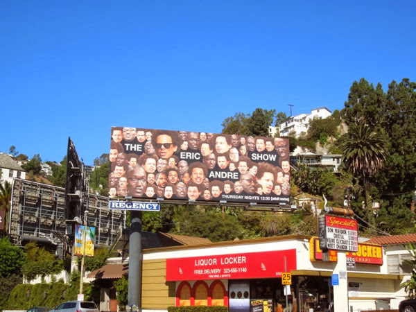 Eric Andre Show series 2 billboard