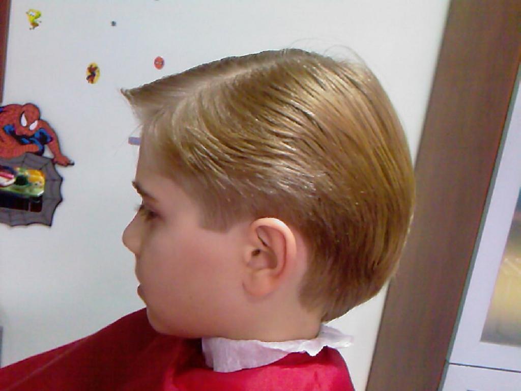 Exquisito peinados de niños Imagen de cortes de pelo estilo - 35 Peinados Lindos Para Los Niños Fotos - Peinados cortes ...