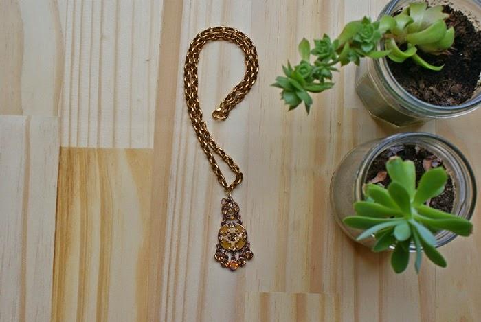 Handmade neclace jewelry bronze