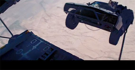 Skydriving stunt in 'Fast and Furious 7' is for real
