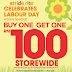 Till 2nd May 2016 Stride Rite Labour day Sale