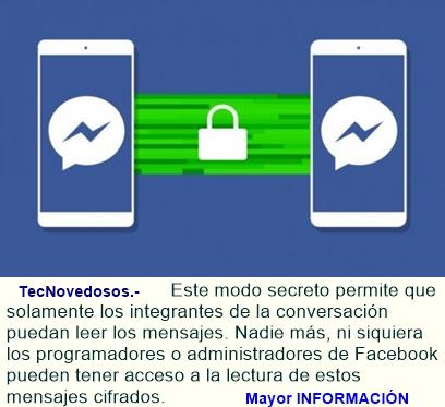 Cómo enviar con Facebook Messenger mensajes secretos que se 'autodestruyen'.