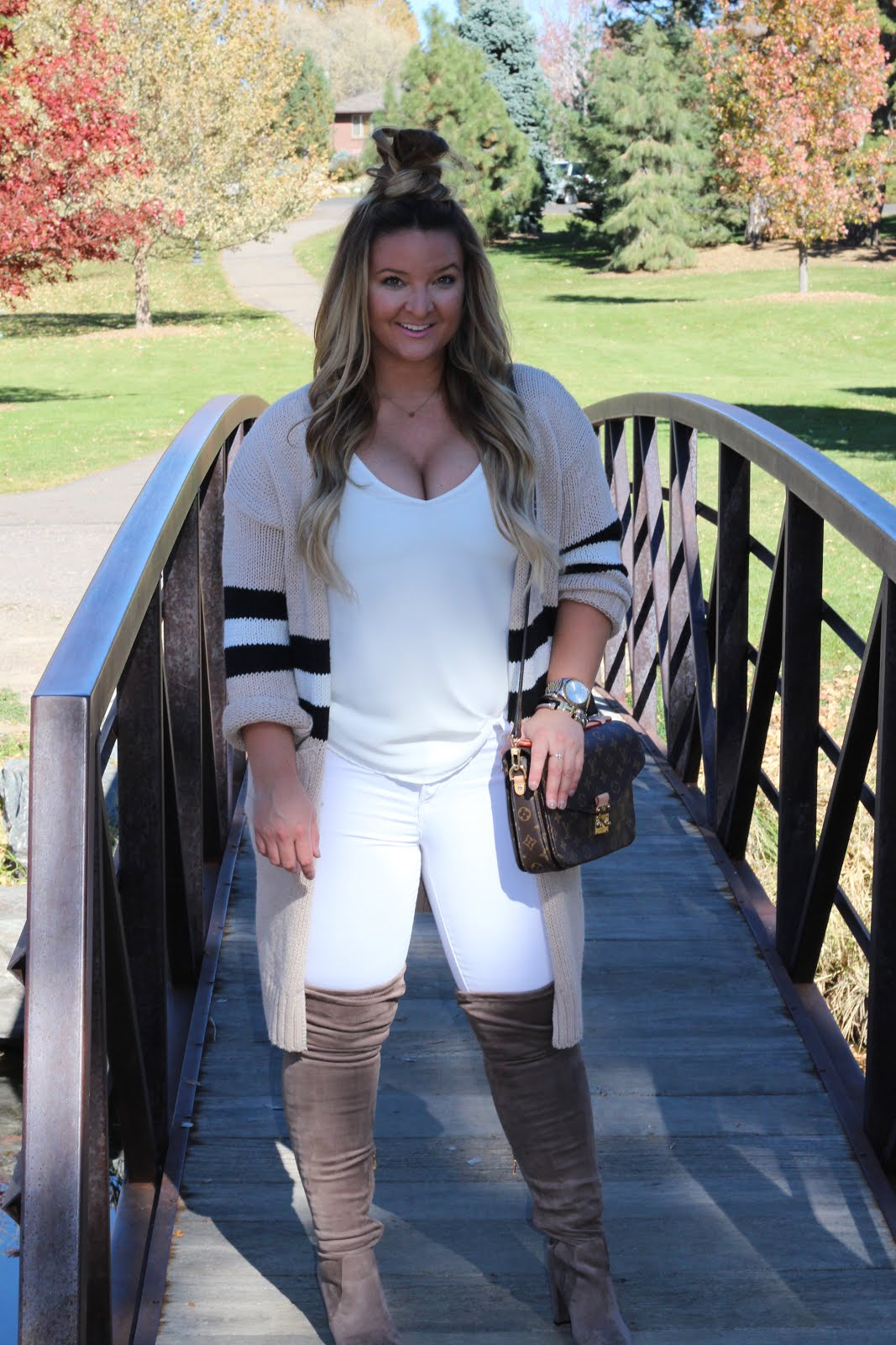 Monochromatic Color with Color Block  by Colorado fashion blogger Delayna Denaye