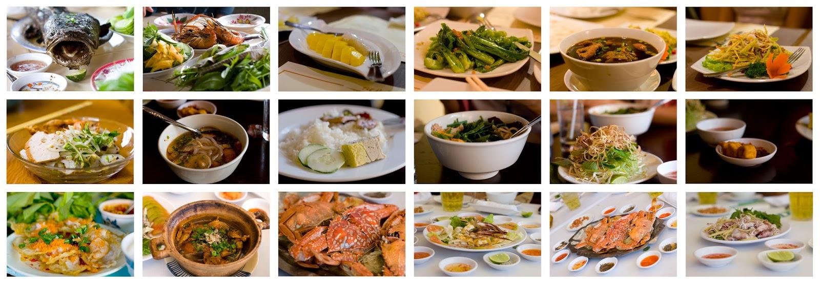Vietnamese Food List