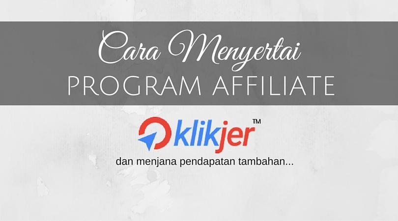 Program Affiliate Klikjer