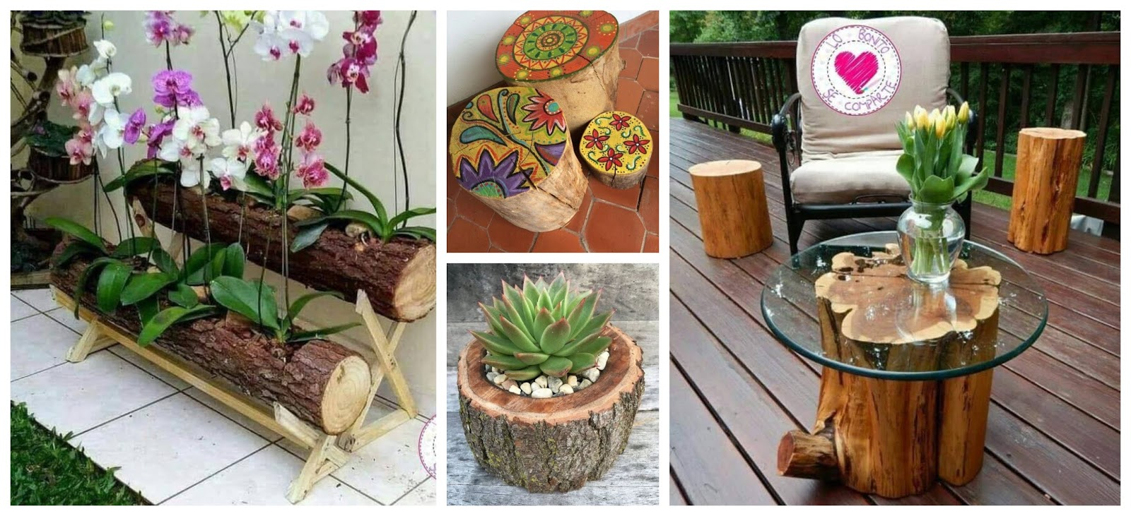 Ideas Decorativas Para Baby Shower.20 Ideas Decorativas Para Tu Casa Usando Troncos De Madera
