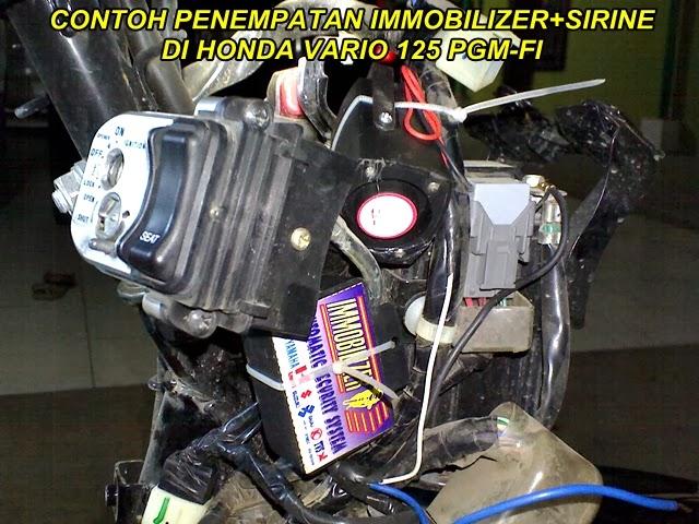 Immobilizer Adalah Pengaman Motor Sensor Sentuh Dgn Sirine