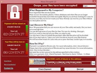 atualizações do windows contra vírus wannacry