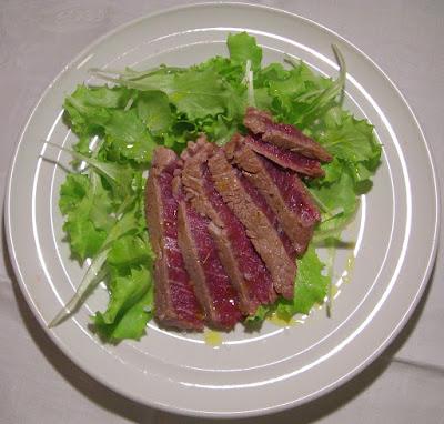 Cucinare assaporare bere e dintorni tagliata di manzo for Cucinare tagliata