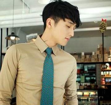 Model Rambut Pria Ala Artis Korea Terbaik 2015