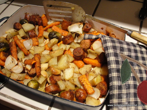 Sausage Bake with Roasted Root Vegetables