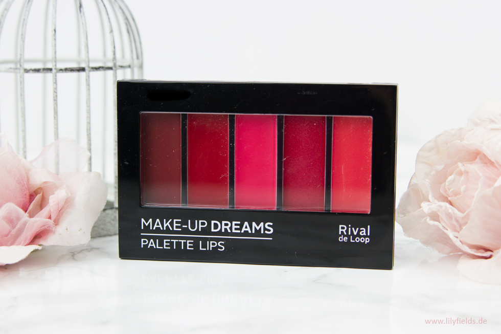 RdL Palette Lips 01 Red