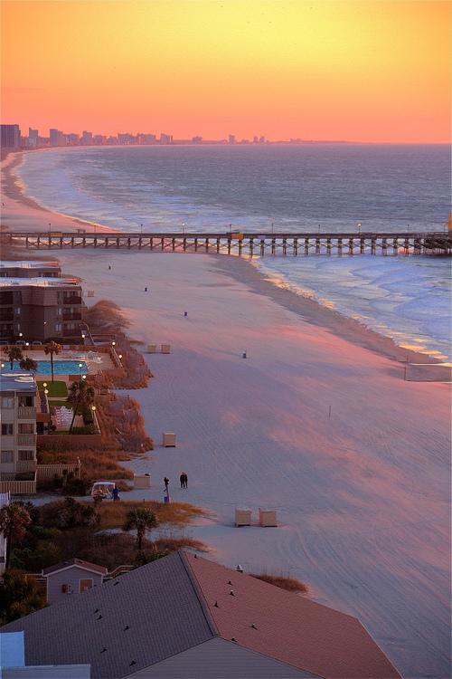 Myrtle Beach South Carolina: Travelgawker: Sunrise, Myrtle Beach, South Carolina