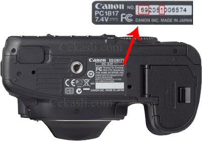 Cara Cek Kamera Canon Asli dan Palsu (KW, Replika)