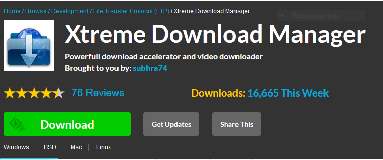 IT GENIUS SITE: XTREME DOWNLOAD MANAGER ON IT GENIUS