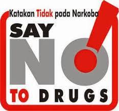slogan kesehatan katakan tidak pada narkoba