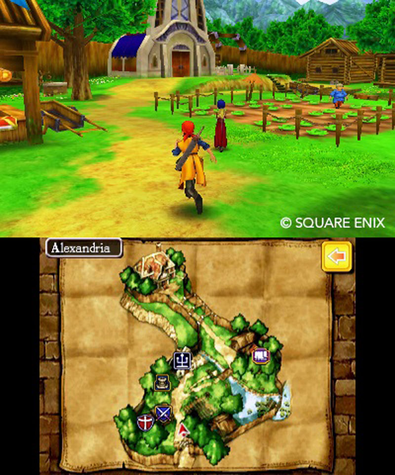 Review Dragon Quest Viii Nintendo 3ds Digitally Downloaded