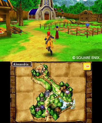 Dragon Quest VIII on Nintendo 3DS