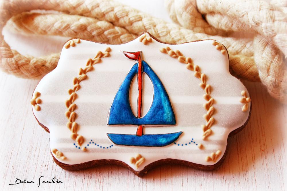 Cómo hacer conchitas o caracoles en fondant: Galletas estilo marinero o Navy {Vídeo Tutorial}