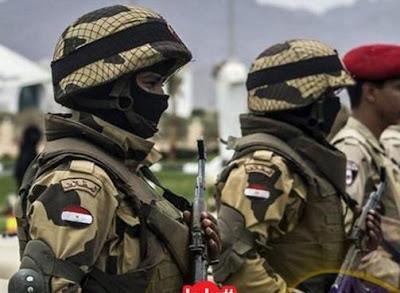 اشتباكات مع الجماعات الارهابية, سيناء, اصابة ضابط وجنديين,