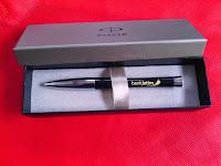 pulpen parker original asli jakarta, pulpen mewah, barang promosi, bank jatim, grafir laser, pulpen grafir