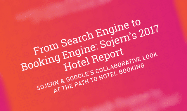 From Search Engine To Booking Engine