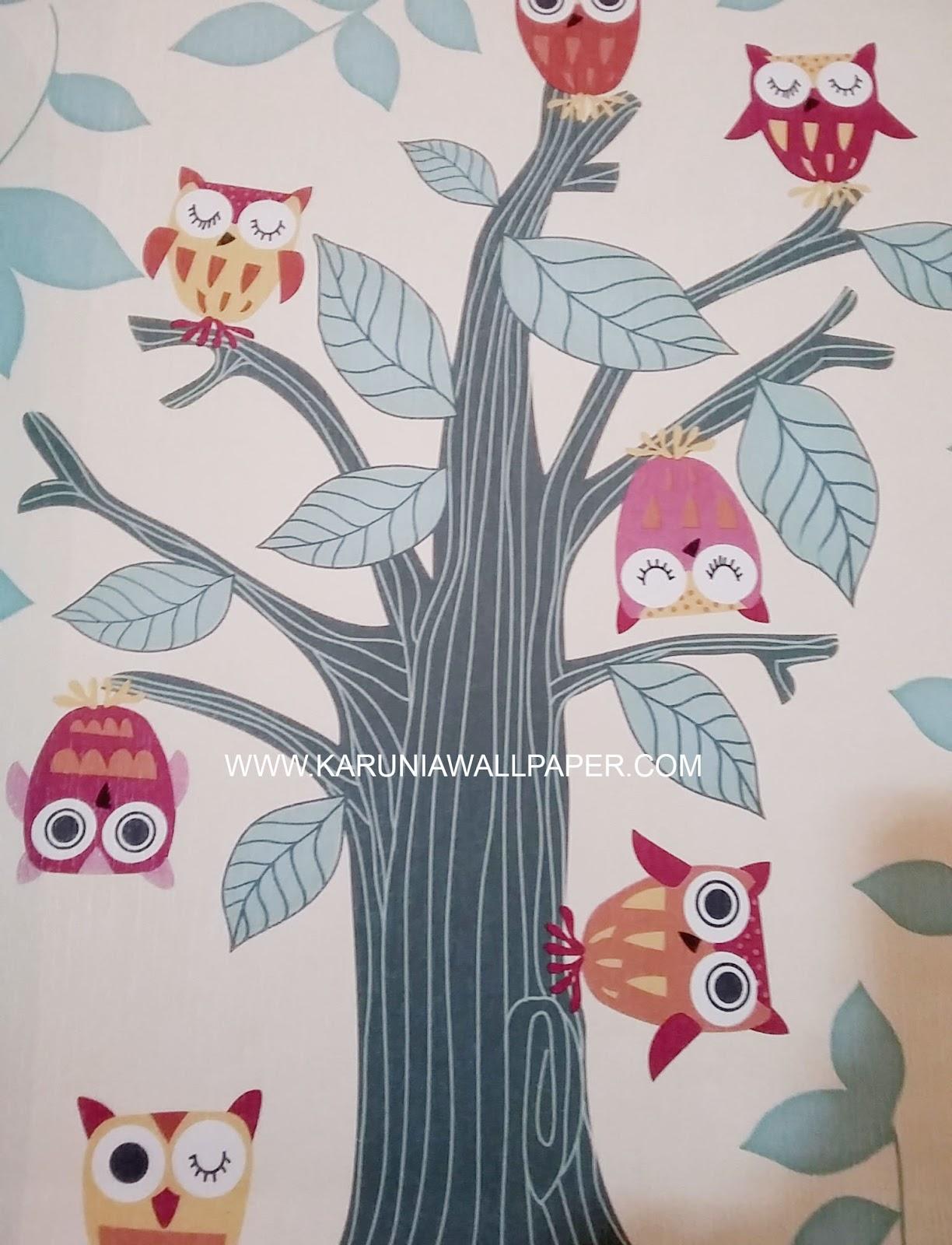 jual wallpaper surabaya untuk hiasan kamar anak lucu