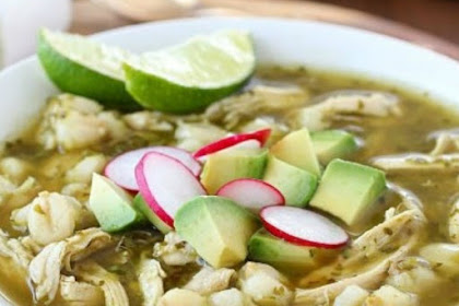 Chicken Posole Verde Recipe