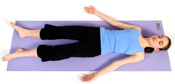 10 Yoga Poses for Shaping Thighs - savasana