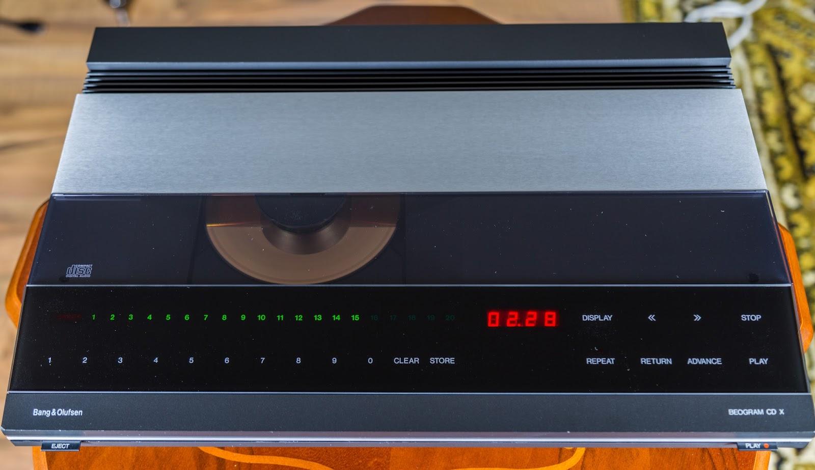 Golden Age Of Audio: Bang & Olufsen Beogram CDX Vintage CD