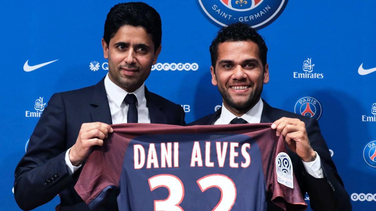 PSG confirma el fichaje de Dani Alves