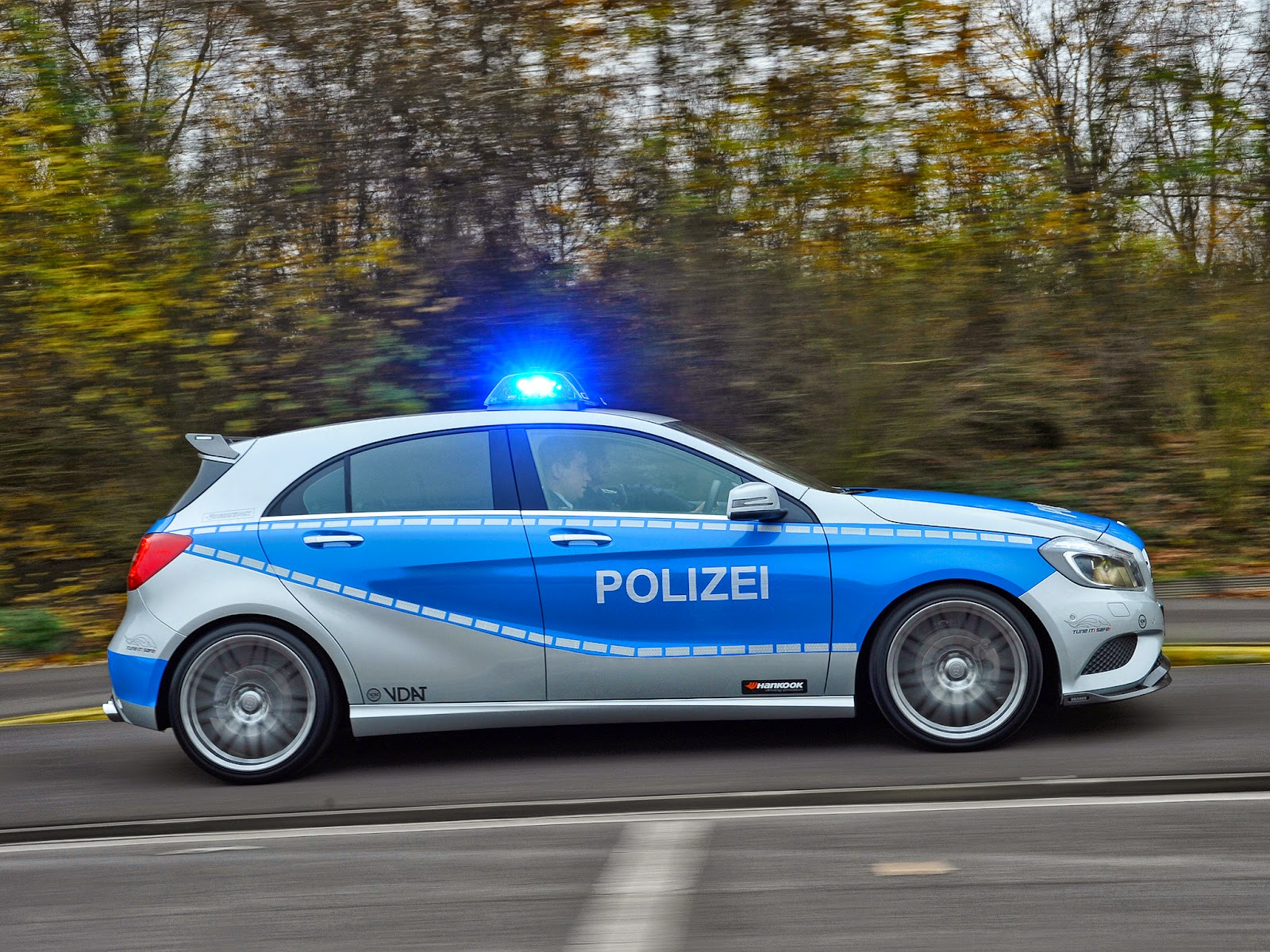 Evolution Of German Police Cars Benztuning