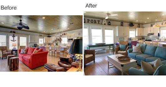Beach House Before and Afters