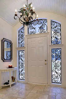Made in the Shade can add a decorative touch to your Prescott home with faux iron grilles for your windows.