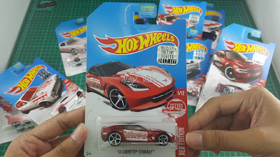 Hot Wheels Red Edition '14 Corvette Stingray