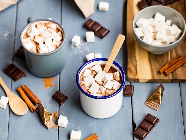Chocolat haud guimauves canelle Epices Daumin Gourmibox Marco Polo